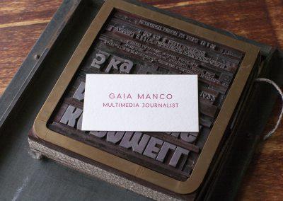 Visitenkarte Manco