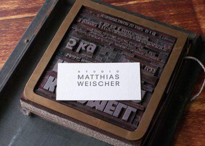Visitenkarte-Studio Weischer